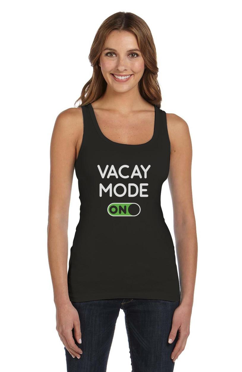 Vacay Mode Summer Fashion Pineapple Vacation Women Tank Top Tstars