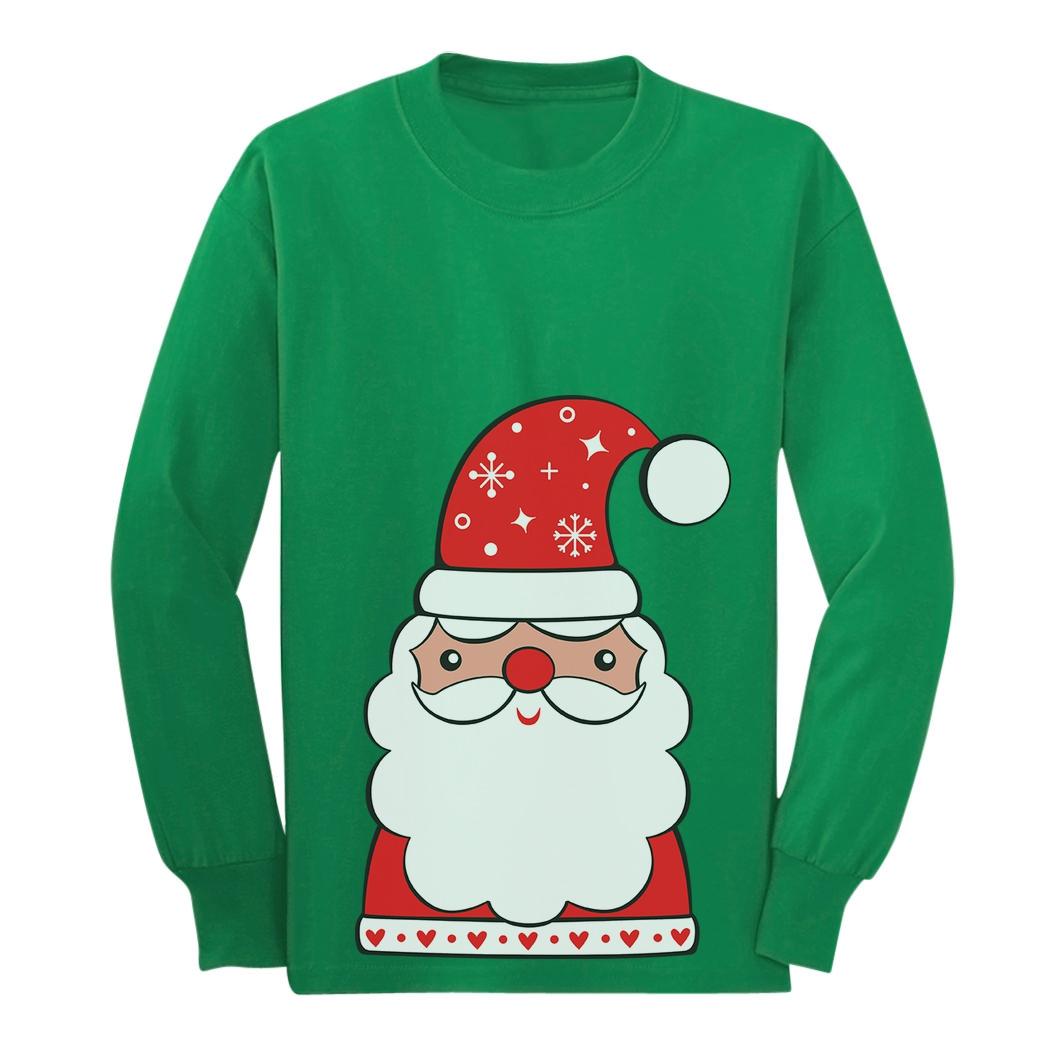 Santa Clause Christmas Toddler Long Sleeve T-shirt