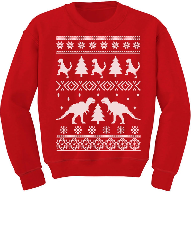 Hoodies for Women Men Christmas Big Trex Zombie Santa Claus Ugly Xmas Sweatshirt