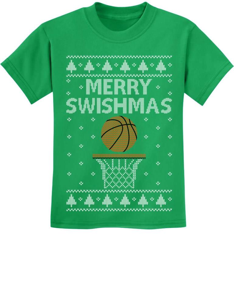 Tstars Baseball Ugly Christmas Ho ho Home Run Toddler//Kids Long Sleeve T-Shirt